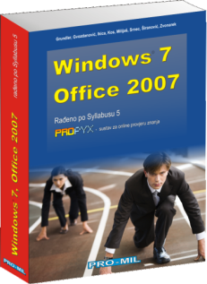 Naslov knjige: Windows 7/ Office 2007, knjiga
